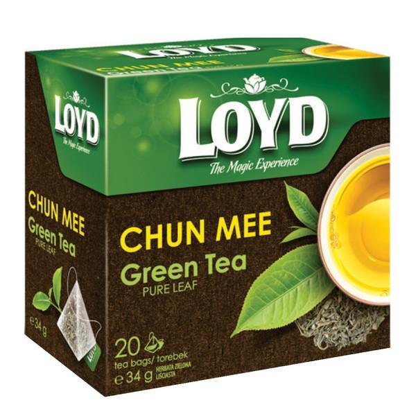 چای سبز لوید مدل چان می مقدار 34 گرمی