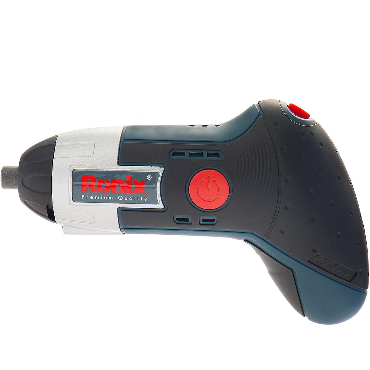 پیچ گوشتی شارژی رونیکس مدل 8500