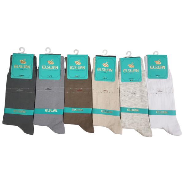 جوراب مردانه ال سون مدل ملبورن کد PH11 بسته 6 عددی