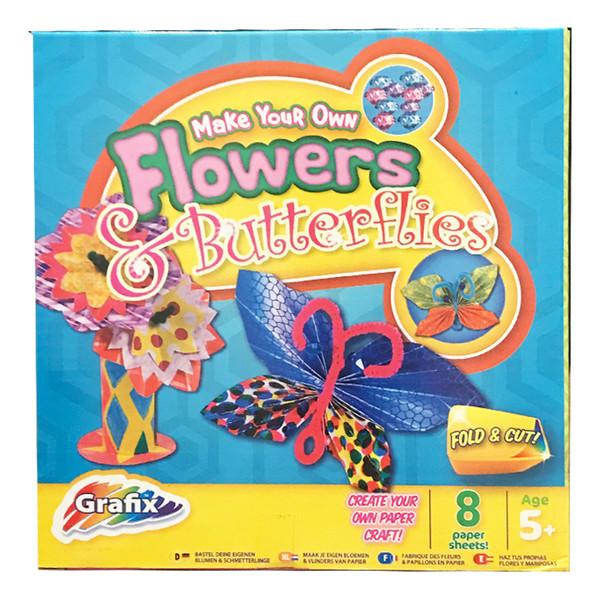 بازی آموزشی گرافیکس مدل Flowers And Butterflies