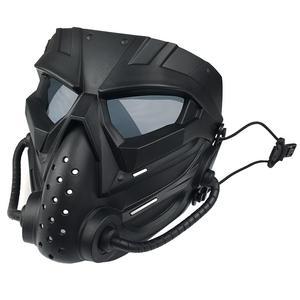 ماسک پینت بال مدل ماسک شیمیایی
