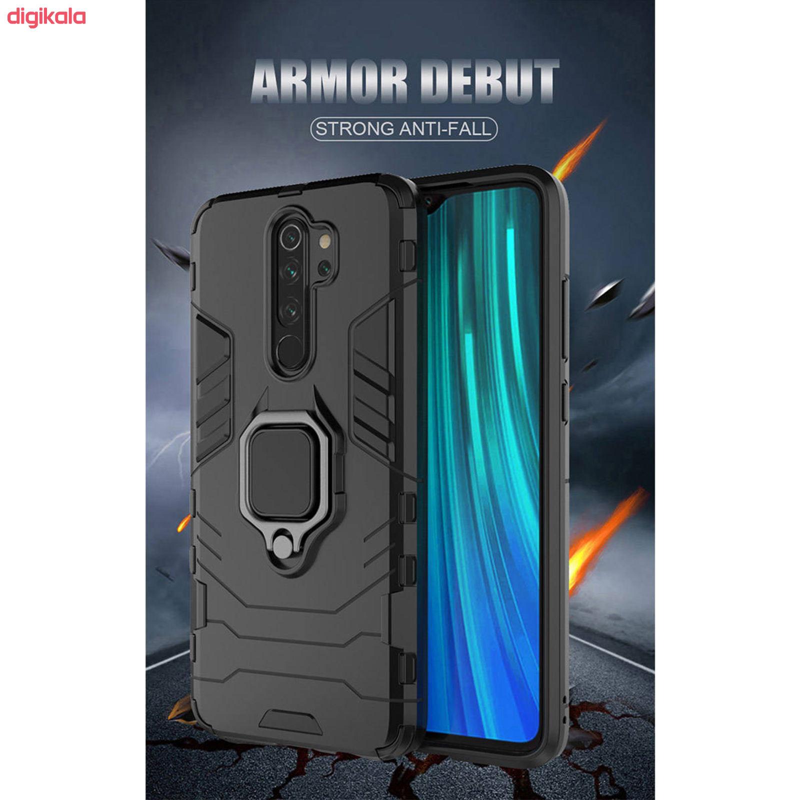 کاور کماندو مدل ASH21 مناسب برای گوشی موبایل شیائومی Redmi Note 8 Pro main 1 11