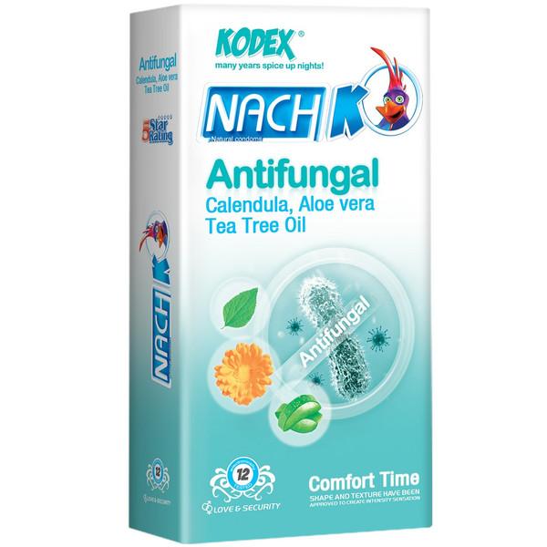 کاندوم ناچ کدکس مدل Antifungal بسته 12 عددی کد 9000