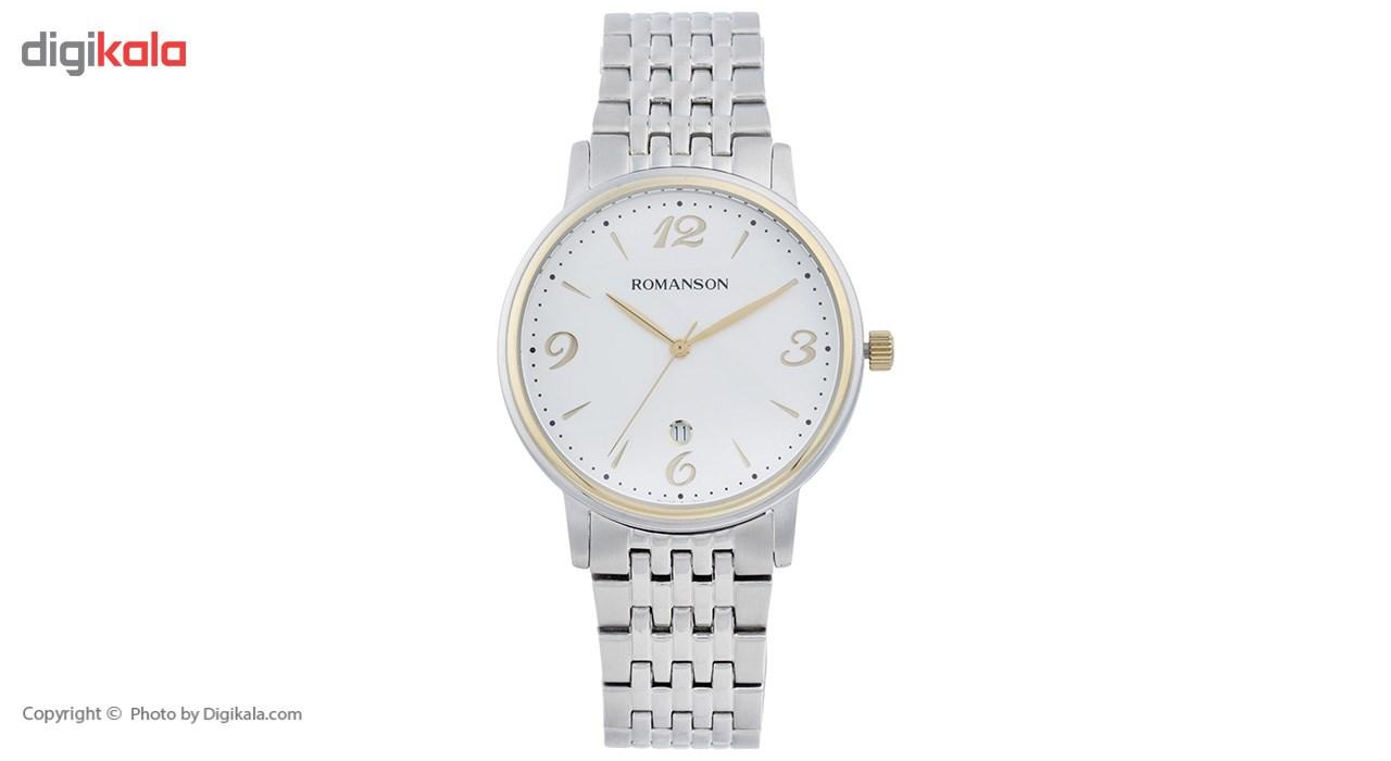 خرید ساعت مچی عقربه ای مردانه رومانسون مدل TM4259MM1CA11G
