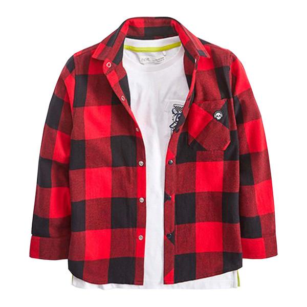 ست تی شرت و پیراهن پسرانه نکست کد 097788