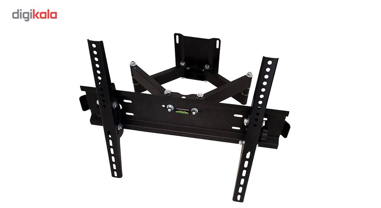پایه دیواری تلویزیون تی وی جک مدل W5 مناسب برای تلوزیون 32 تا 58 اینچ main 1 1