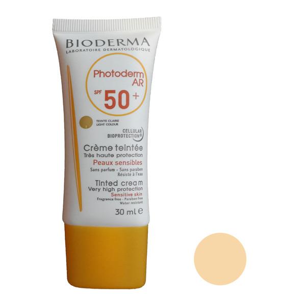 کرم ضد آفتاب بایودرما مدل anti-tache حجم 30 میلی لیتر