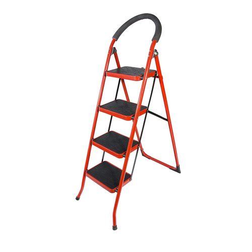 نردبان چهار پایه پله دکورآسان مدلp4