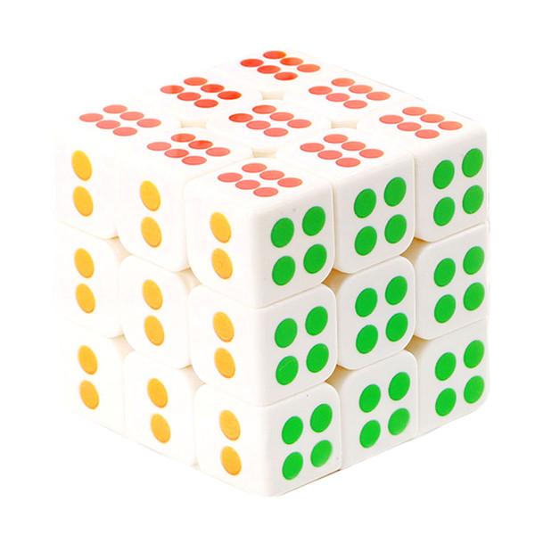 مکعب روبیک  مدل تاس 3x3