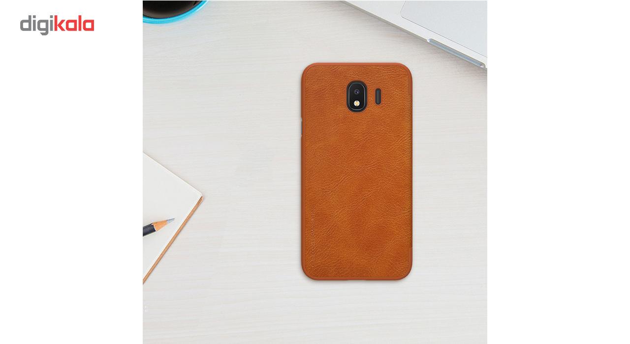 کیف کلاسوری نیلکین مدل Qin مناسب برای گوشی موبایل سامسونگ Galaxy J4 main 1 4