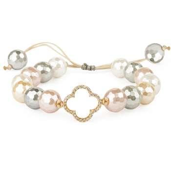 دستبند طلا 18 عیار زنانه مدل Ri3-V1060-Gold