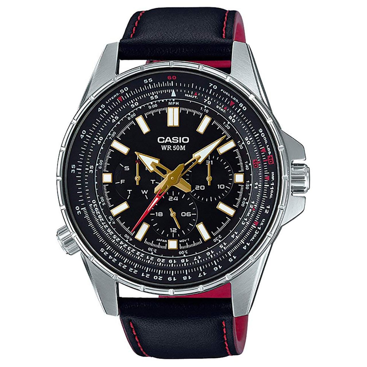 ساعت مچی عقربه ای مردانه کاسیو مدل MTP-SW320L-1AVDF              خرید (⭐️⭐️⭐️)