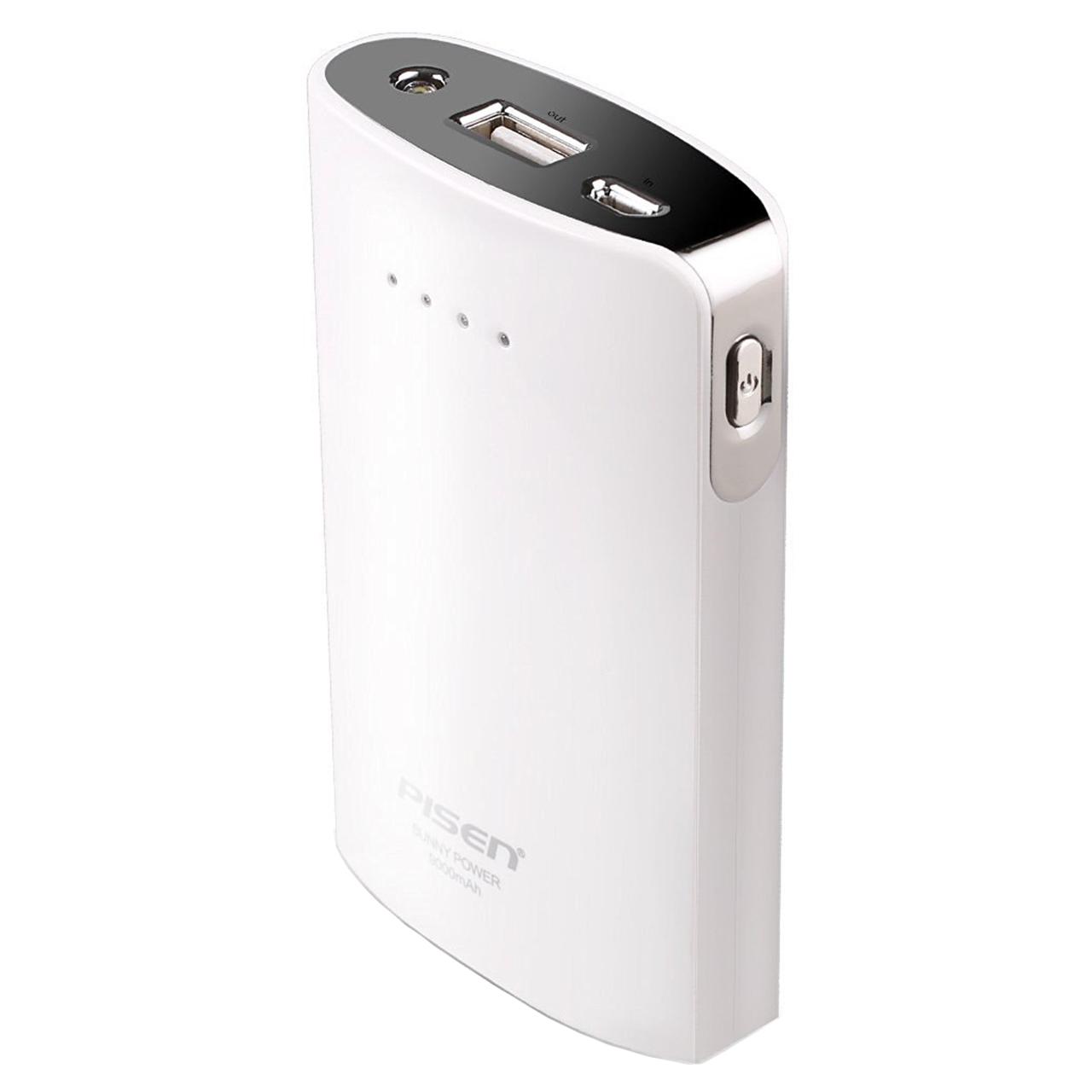 شارژر همراه پایزن مدل Sunny Power TS-D178 با ظرفیت 7500 میلی آمپر ساعت
