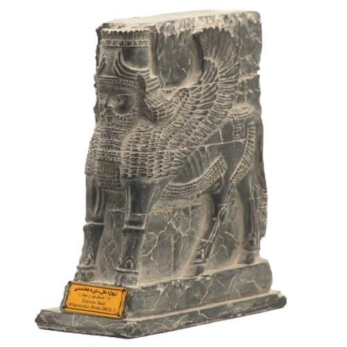 مجسمه تندیس و پیکره شهریار مدل دروازه ملل شیر کد MO410 سایز متوسط