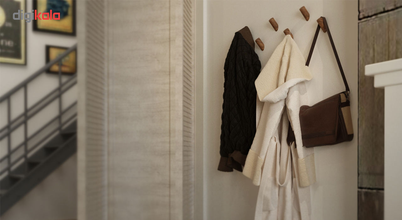 اویز لباس ارا مدل هوک پک 4 عددی main 1 10