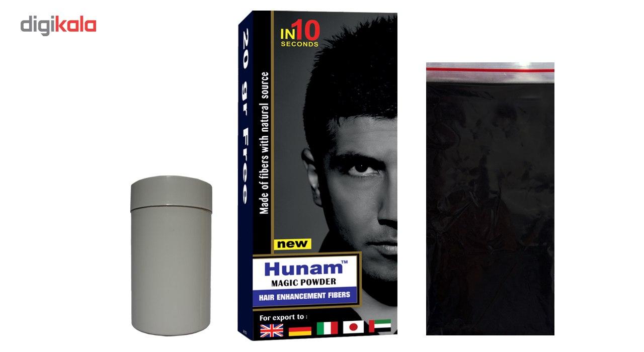 پودر پرپشت کننده مو هونام کد 35-02 مقدار 35 گرم