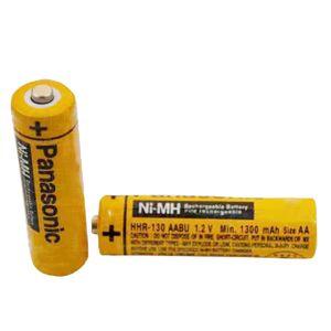 باتری قلمی قابل شارژ پاناسونیک مدل HHR-4DPA بسته 2 عددی
