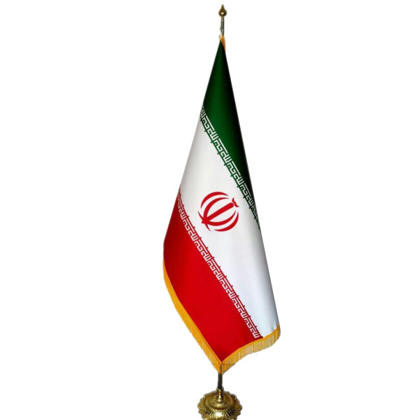 پرچم ایران مدل پایه خورشیدی
