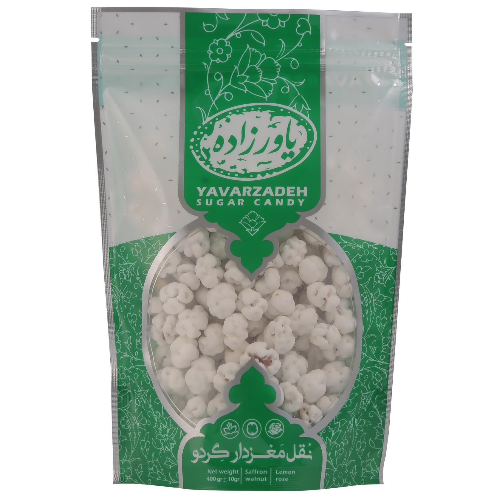 نقل گردویی و گلاب یاورزاده - 400گرم