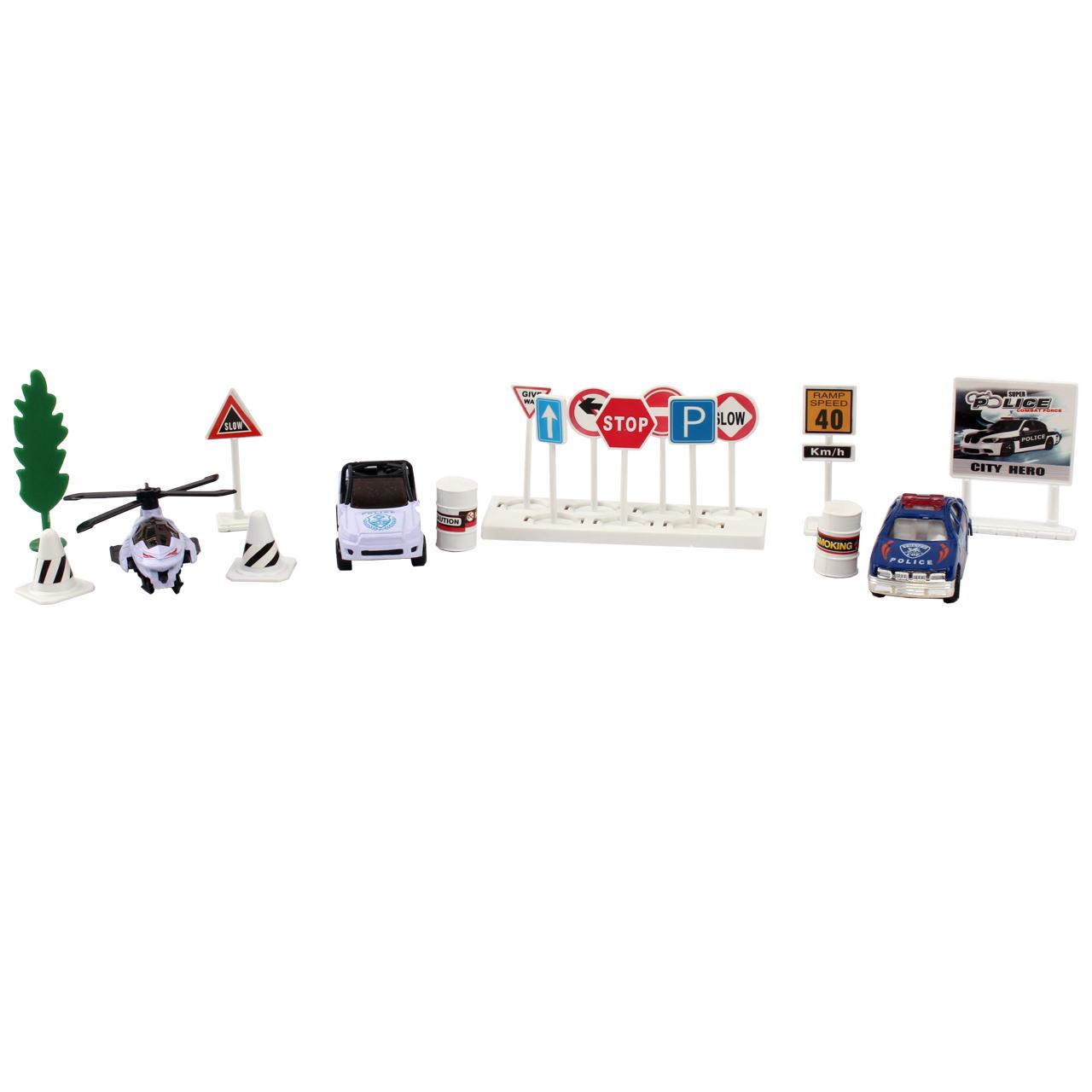 ست ماشین بازی مدل  City Car