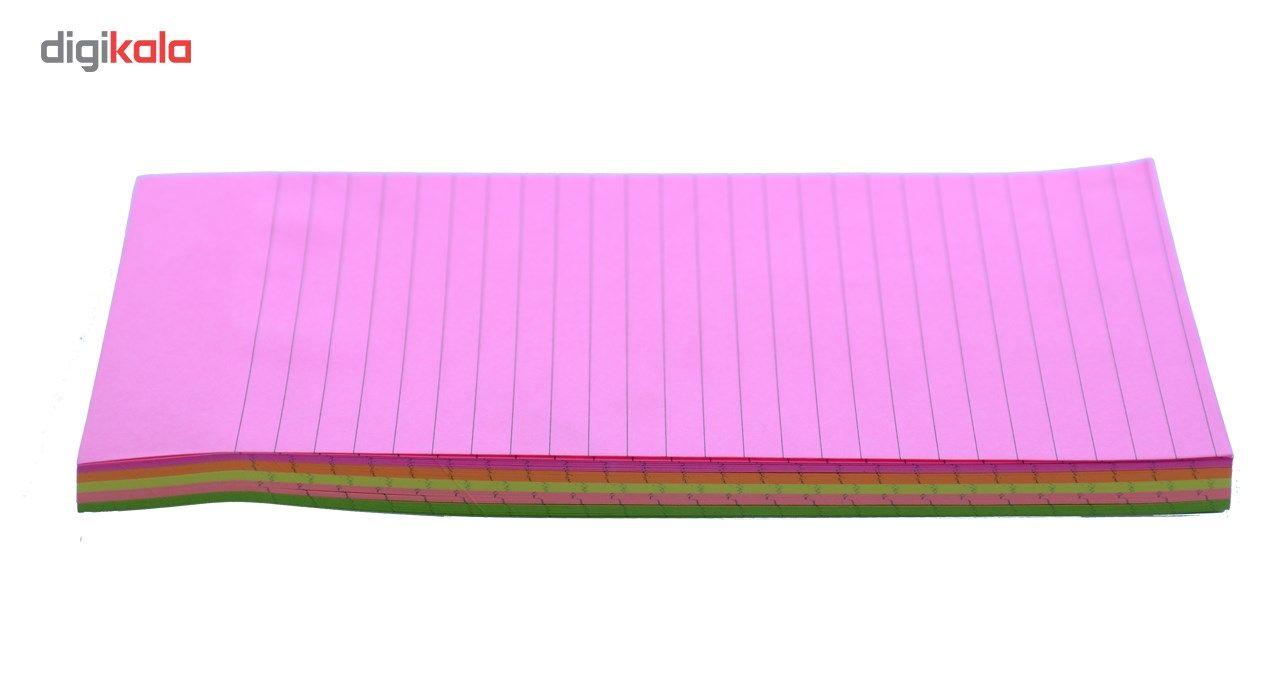 کاغذ یادداشت چسب دار SKY A5 بسته 100 برگی مدل 1054 main 1 5