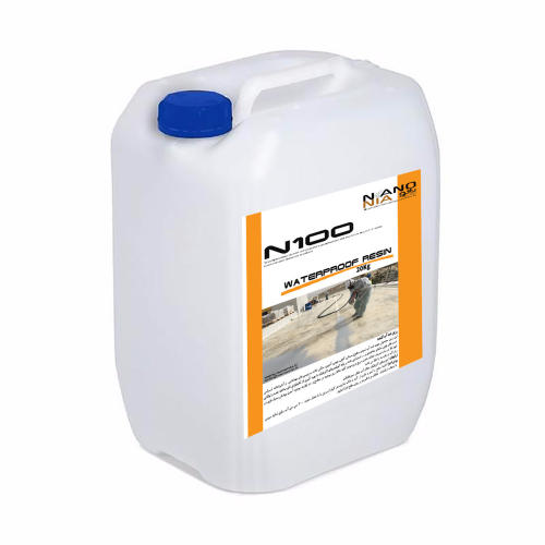 محلول آب بندی و ایزولاسیون فوری سطوح نانونیا مدل N100-plus حجم ۲۰ لیتر