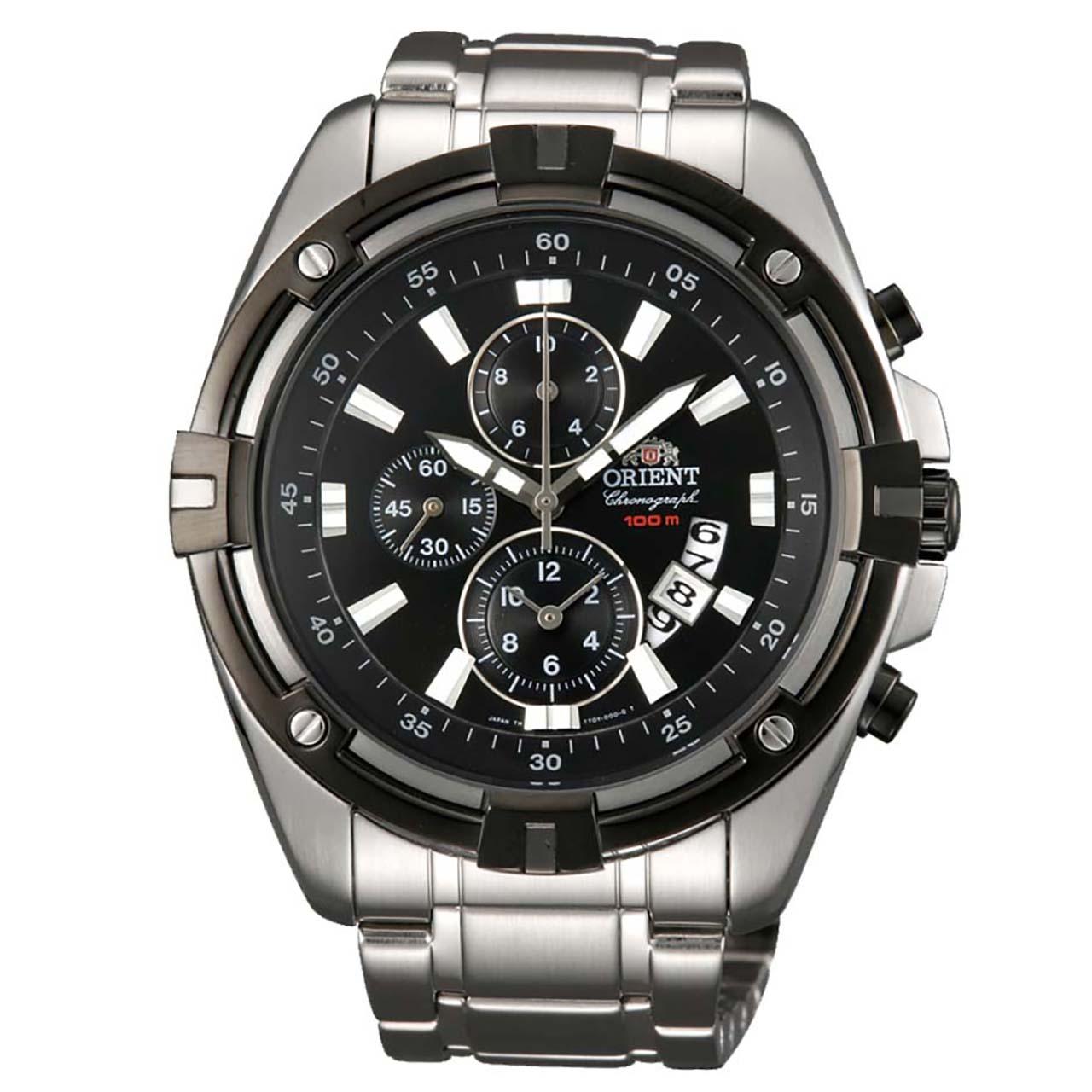 ساعت مچی عقربه ای مردانه اورینت مدل STT0Y002B0 12