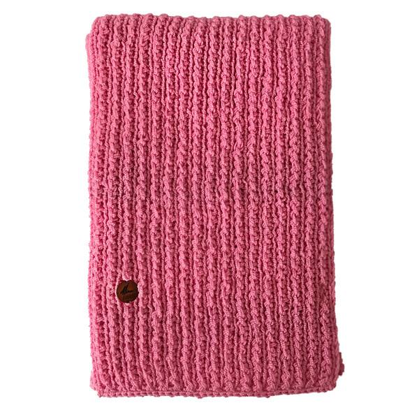 شال گردن خانه مد میرا مدل Plain Pink