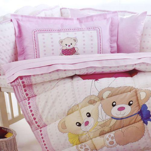 سرویس 8 تکه لحاف نوزاد ازدیلک سری رنفورس طرح Little bear