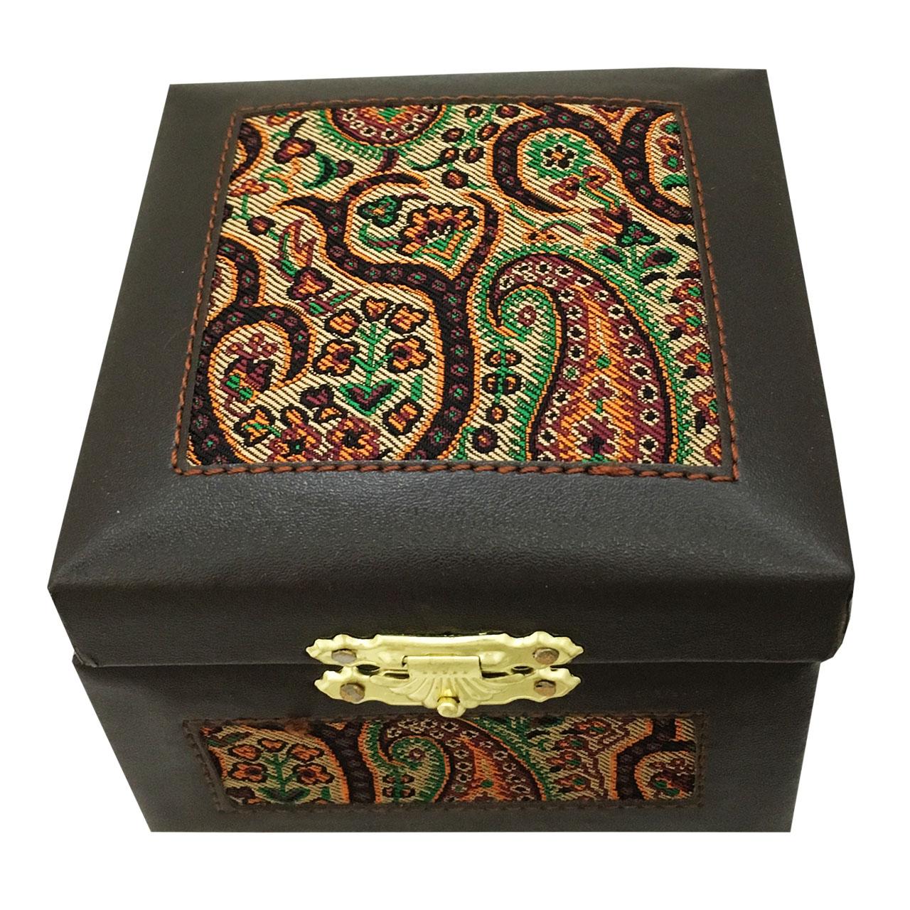 جعبه جواهرات طرح ترمه کد 02