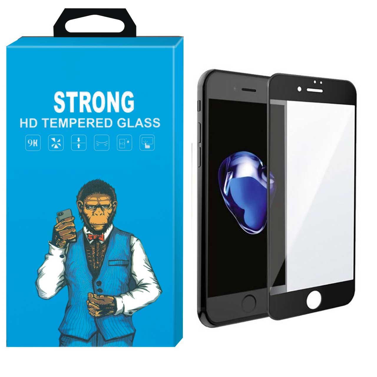 محافظ صفحه نمایش نانو گلس استرانگ مدل 5D مناسب برای اپل آیفون 7/8