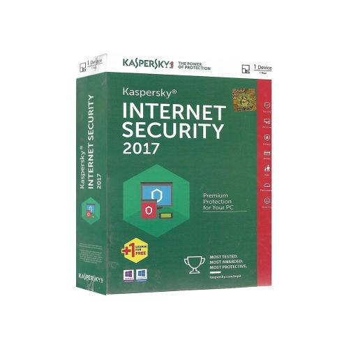 نرمافزار امنیتی کسپرسکی اینترنت سکیوریتی 1+1 کاربره 1 ساله