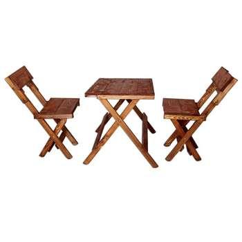میز و صندلی ناهارخوری 2 نفره مدلA-002  