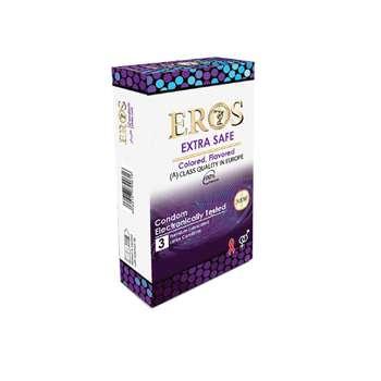 کاندوم اروس مدل Extra Safe بسته 3 عددی