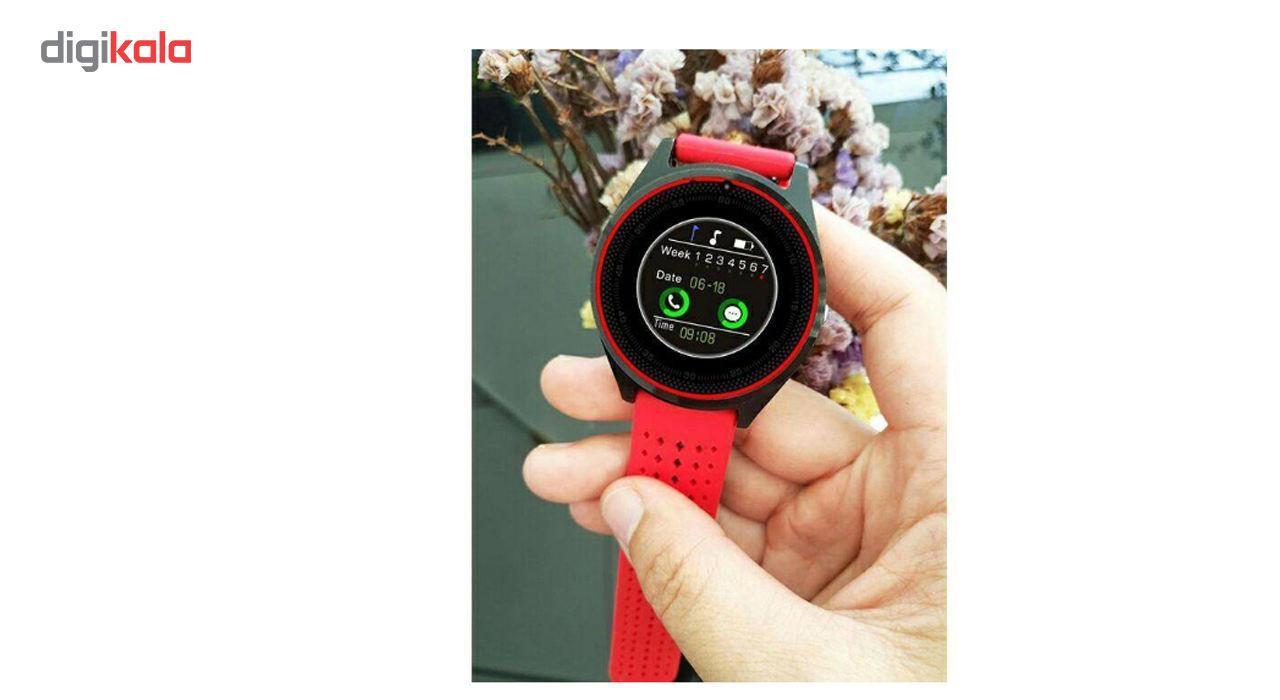 ساعت هوشمند اسمارت لایف مدل V9 همراه باتری یدکی main 1 4