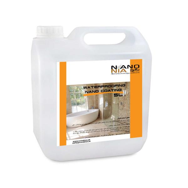 محلول آب بند و نفوذگر نانونیا مدل n90plus-5LIT حجم ۵ لیتر
