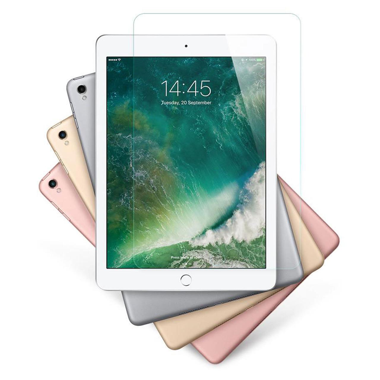 محافظ صفحه نمایش شیشه ای مدل RG مناسب برای تبلت اپل iPad pro 10.5