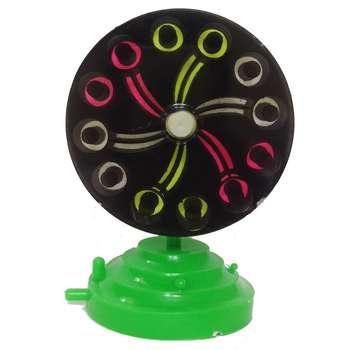 چرخ نئون  حباب ساز آکواریوم  مدل سه رنگ