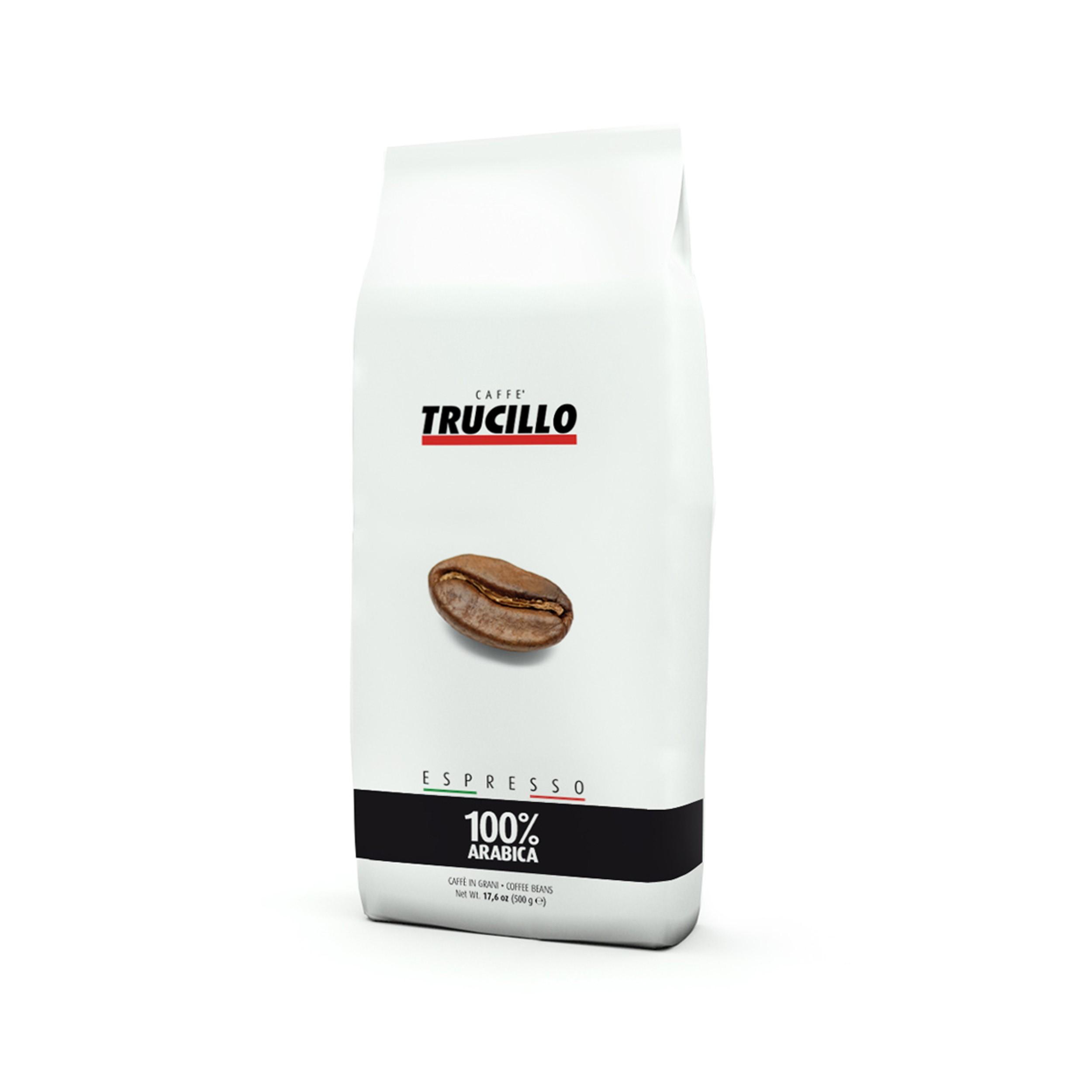 دانه قهوه بوداده تروچیلو مدل عربیکا بسته 1000 گرمی