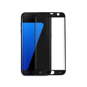 محافظ صفحه نمایش شیشه ای مدل فول کاور مناسب برای گوشی موبایل سامسونگ Galaxy S7 Edge