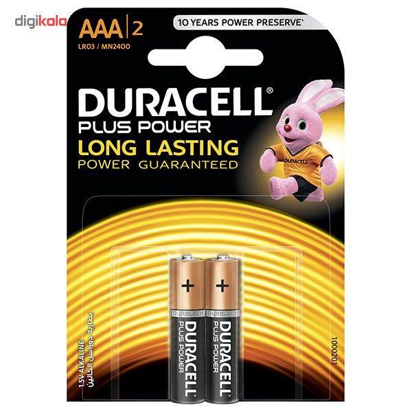 باتری نیم قلمی دوراسل مدل Plus Power Duralock بسته 2 عددی main 1 1