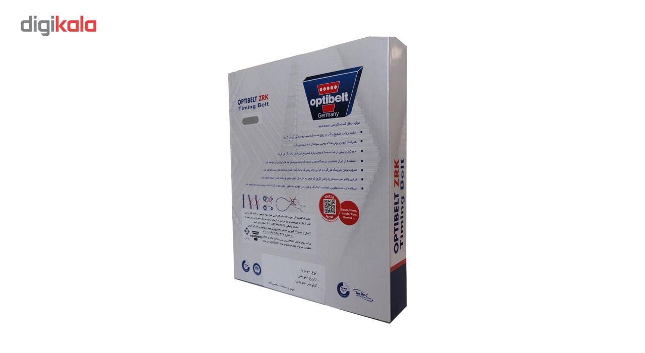 تسمه تایم اپتی بلت مدل ZRK1537 134-25.4 مناسب برای پژو 206 تیپ 5 main 1 2