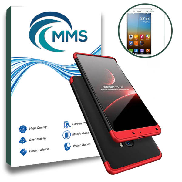 کاور گوشی و محافظ صفحه نمایش ام ام اس مدل Full Protection مناسب برای گوشی Xiaomi Mi Max 2