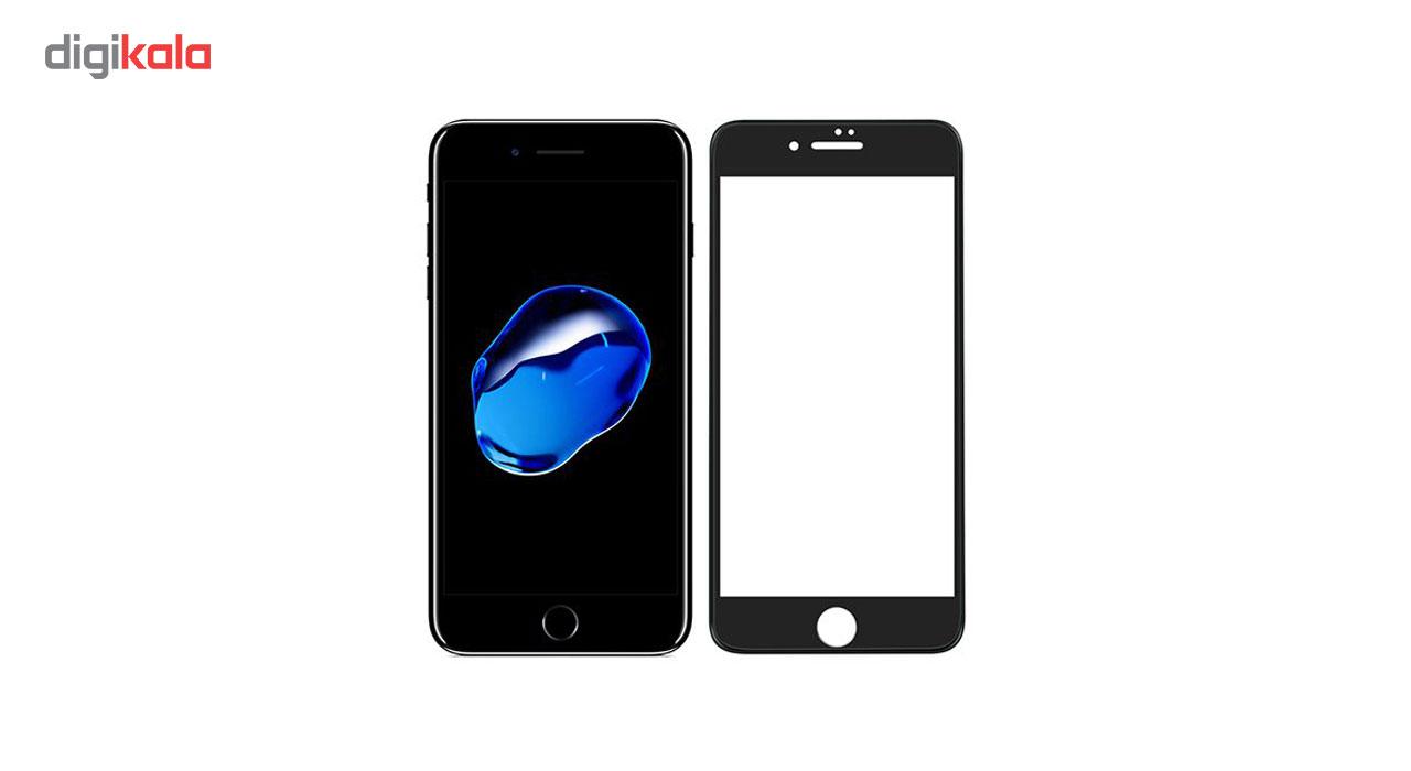 محافظ صفحه نمایش تمام چسب مدل 3D Tempered Glass مناسب برای گوشی موبایل اپل iPhone 7/8 main 1 1