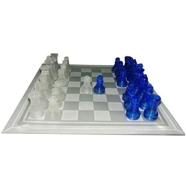 شطرنج شیشه ای مدل 777