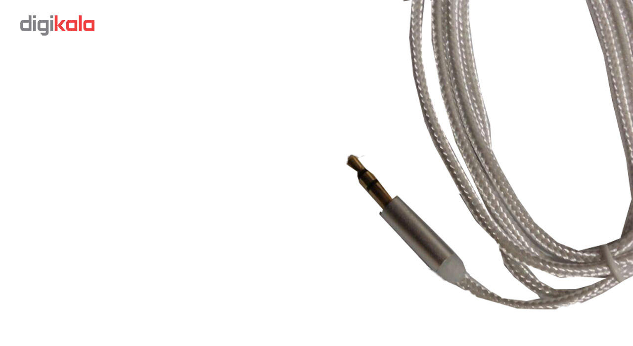 کابل AUX مدل کنفی طول 1 متر main 1 1