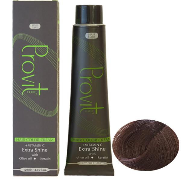 رنگ مو پرویت سری شکلاتی شماره 6/7 حجم 120 میلی لیتر رنگ بلوند شکلاتی تیره