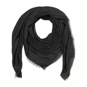 روسری زنانه مشکی مدل ژاکارت 1404