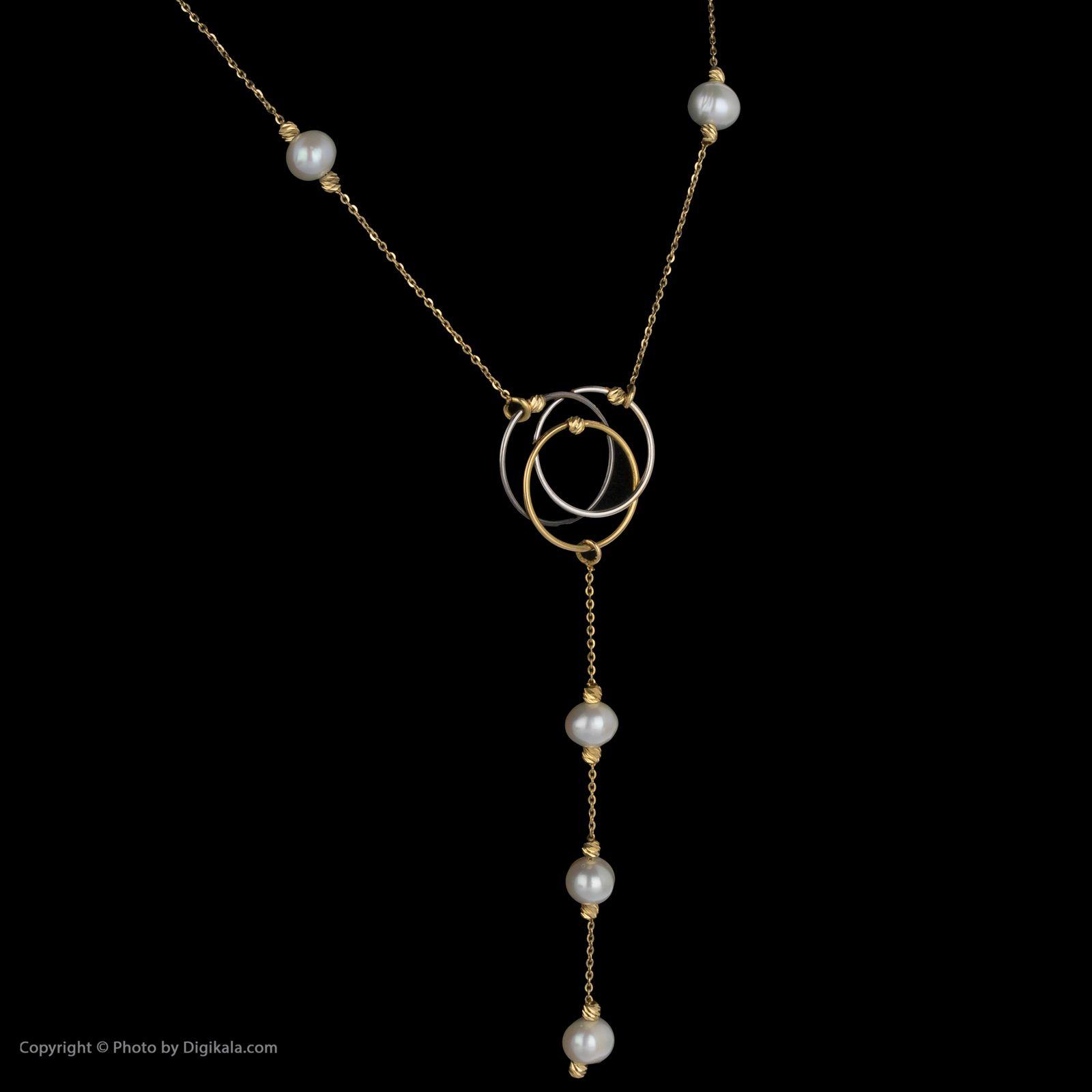 گردنبند طلا 18 عیار زنانه سیودو مدل 145454 -  - 4