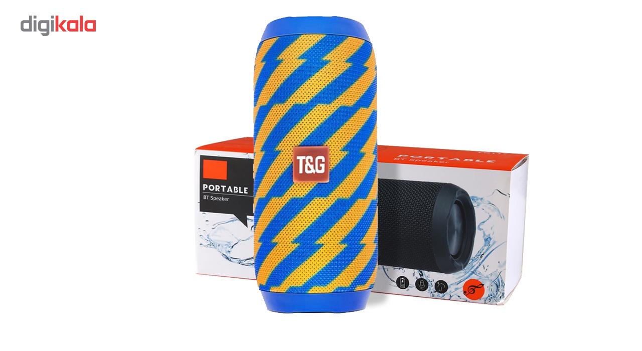 اسپیکر بلوتوثی قابل حمل تی اند جی مدل TG117